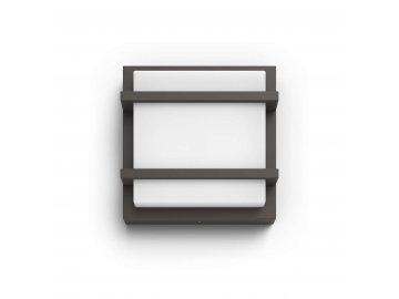 LED Venkovní nástěnné svítidlo Philips Petronia 17394/93/P0 antracitové 2700K