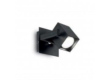 IDEAL LUX - Bodové nástěnné svítidlo Ideal AP1 nero 073569 1x50W černé