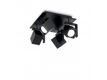 IDEAL LUX - Bodové stropní svítidlo Mouse PL4 nero 156712 4x50W černé