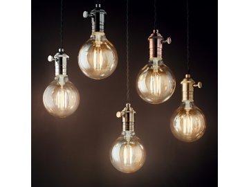 Závěsné svítidlo Ideal Lux Doc SP1 brunito 163109 bronzové