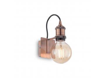 Nástěnné svítidlo Ideal Lux Frida AP1 rame antico 163338 měděné