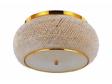 Stropní svítidlo Ideal Lux Pasha' PL14 oro 165004 zlaté 65cm