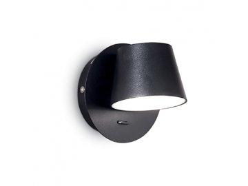 IDEAL LUX - Nástěnné bodové LED svítidlo Gim AP1 nero 167121 černé