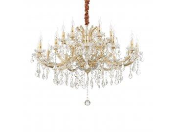 IDEAL LUX - Závěsné svítidlo Napoleon SP18 oro 167411 zlaté 94cm