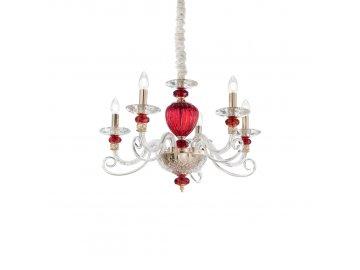 IDEAL LUX - Závěsné svítidlo Baronet SP5 168258 60cm