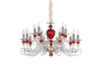 IDEAL LUX - Závěsné svítidlo Baronet SP15 168289 88cm