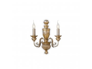 IDEAL LUX 020846 nástěnné svítidlo Dora AP2 2x40W E14