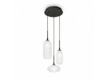 IDEAL LUX - Závěsné svítidlo Yoga SP3 nero 173009 černé 3x40W