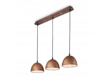 Závěsné svítidlo Ideal Lux Folk SP3 174235 3x18cm