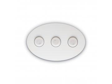 Stropní a nástěnné svítidlo Ideal Lux Logos PL3 bianco 175768 45cm