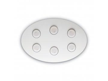 IDEAL LUX - Stropní a nástěnné svítidlo Logos PL6 bianco 175799 60 cm