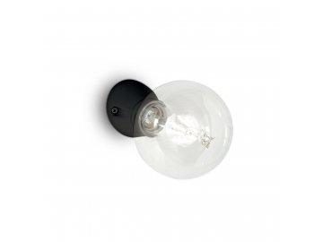 IDEAL LUX - Nástěnné svítidlo Winery AP1 nero 180304 černé