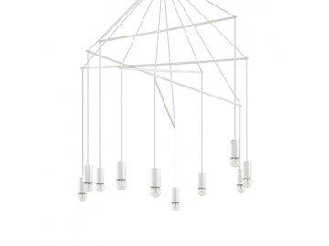 IDEAL LUX - Závěsné svítidlo Pop SP10 bianco 186801 bílé 90cm