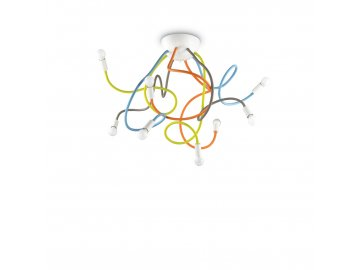 Stropní svítidlo Ideal Lux Multiflex PL8 color 159010