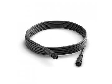 Hue prodlužovací kabel 5 m k venkovním svítidlům Philips Calla a Lily 17424/30/PN černý