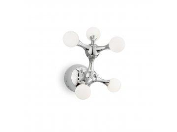 IDEAL LUX 022277 nástěnné svítidlo Nodi Bianco AP5 5x20W G4