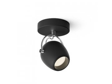 LED Bodové svítidlo Philips Rivano 50611/30/P0 1x4,3W černé 2700K