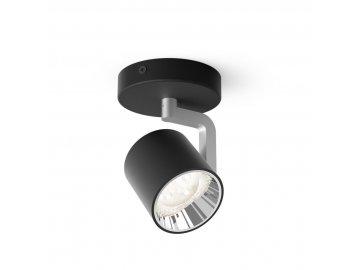 PHILIPS - LED Bodové svítidlo Philips Byrl 50671/30/P0 s funkcí SceneSwitch černé