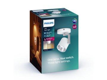 LED Bodové svítidlo Philips Byrl 50671/31/P0 s funkcí SceneSwitch bílé