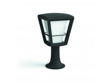 Hue LED White and Color Ambiance Venkovní sloupkové svítidlo Philips Econic 17441/30/P7 černé 32cm 2200K-6500K RGB