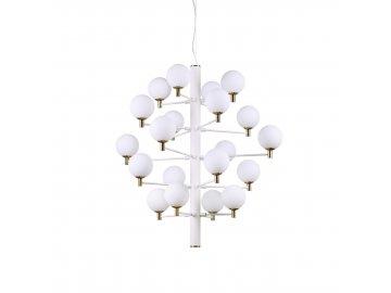 IDEAL LUX - Závěsné svítidlo Copernico SP20 bianco 197326 bílé 86cm