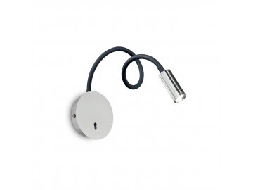 LED Nástěnná lampa Ideal Lux Focus-2 AP1 cromo 203188 chromová