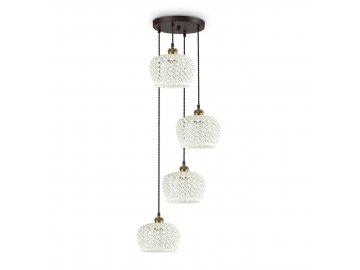 IDEAL LUX - Závěsné svítidlo Edelweiss SP4 206790