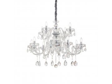 IDEAL LUX - Závěsné svítidlo Continental SP12 207483 86cm 12x40W
