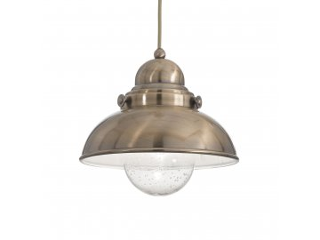 IDEAL LUX 025308 závěsné svítidlo Sailor SP1 D29 Brunito 1x60W E27