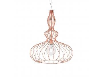 Závěsné svítidlo Ideal Lux Clarissa SP1 rame 220611 měděné