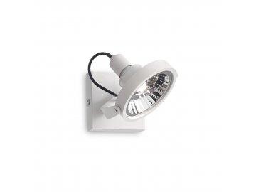 IDEAL LUX - Bodové svítidlo Glim PL1 bianco 200194 1x50W bílé 13cm
