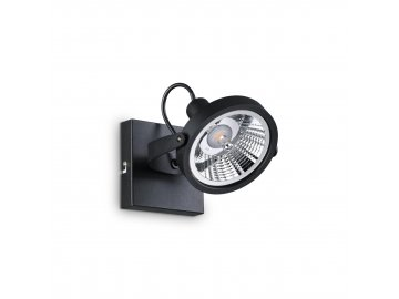 IDEAL LUX - Bodové svítidlo Glim PL1 nero 200231 1x50W černé 13cm