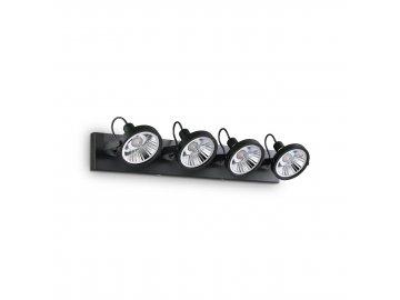 IDEAL LUX - Bodové svítidlo Glim PL4 nero 200255 4x50W černé 65cm
