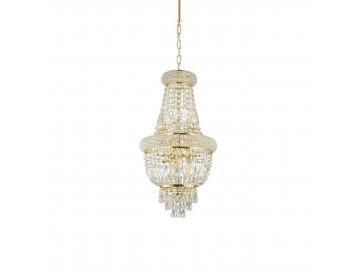 IDEAL LUX - Závěsné svítidlo Dubai SP5 ottone 200965 5x40W zlaté 33cm