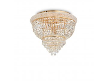 Stropní svítidlo Ideal Lux Dubai PL6 ottone 201016 6x40W zlaté 52cm