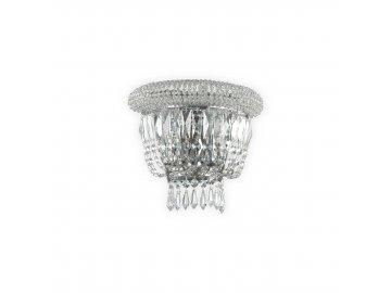 Nástěnné svítidlo Ideal Lux Dubai AP2 cromo 207155 2x40W chromové