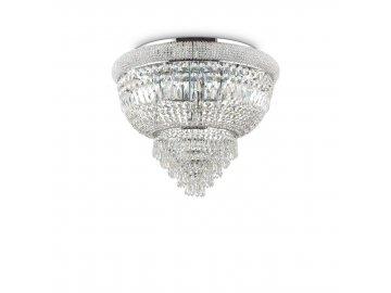 IDEAL LUX - Stropní svítidlo Dubai PL6 cromo 207186 6x40W chromové 52cm
