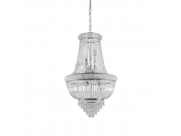 IDEAL LUX - Závěsné svítidlo Dubai SP10 cromo 215969 10x40W chromové 52cm