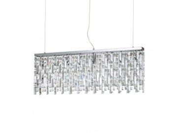 IDEAL LUX - Závěsné svítidlo Elisir SP8 cromo 200002 8x40W chromové 100cm