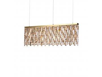 IDEAL LUX - Závěsné svítidlo Elisir SP8 ottone 200071 8x40W zlaté 100cm
