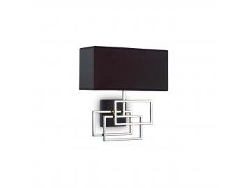 Ideal lux - nástěnné svítidlo Luxury AP1 cromo 201054