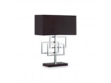 IDEAL LUX - Stolní lampa Luxury TL1 cromo 201078 1x60W chromová
