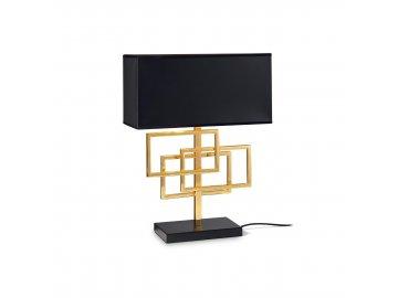 IDEAL LUX - Stolní lampa Luxury TL1 ottone 201115 1x60W mosazná
