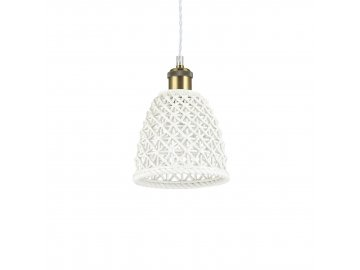 Závěsné svítidlo Ideal Lux Lugano SP1 D18 206820 1x60W 17cm