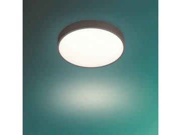 PHILIPS 60262/43/P5 LED stropní světlo Brown 28W 3600lm 2700-6500K, hnědá