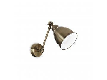 IDEAL LUX 027876 nástěnné svítidlo Newton AP1 Brunito 1x60W E27