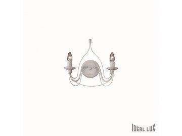 IDEAL LUX 028460 nástěnné svítidlo Corte AP2 Bianco 2x40W E14