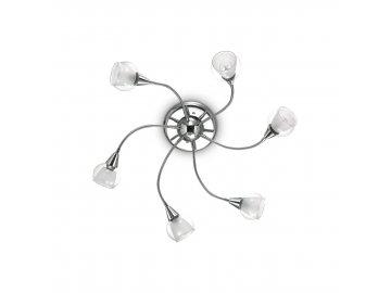 IDEAL LUX 028699 svítidlo Tender PL6 Trasparente 6x40W E14