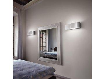 IDEAL LUX 031361 nástěnné svítidlo Clip AP2 Small Cromo 2x60W E27