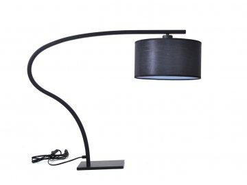 Stolní lampa 1x40W bez zdroje, černá
